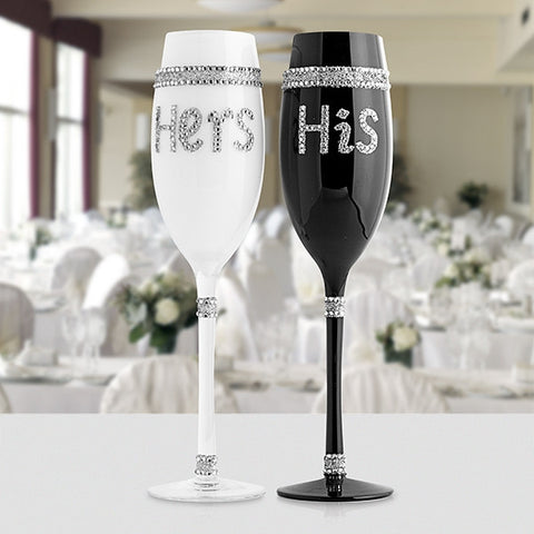 Champagne Glass (his and hers)