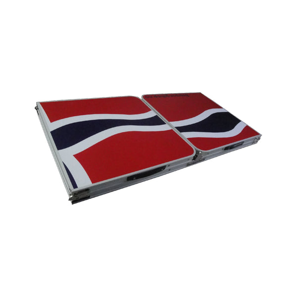 Beerpong Bord - Norsk Flagg