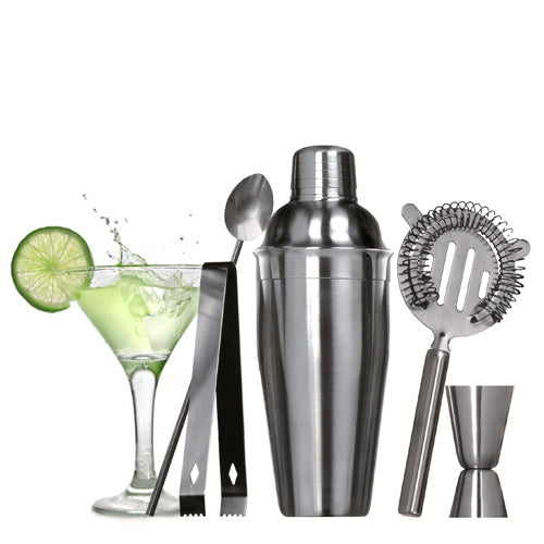 Cocktail shaker set (5 deler)