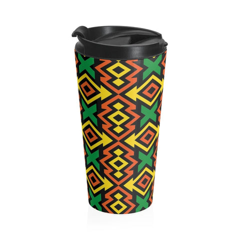 African print Stainless Steel Travel Mug RLW2636