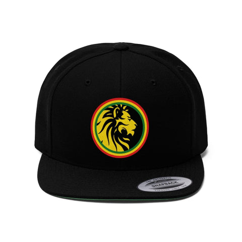 Unisex Lion of Judah Flat Bill Hat RLW2287