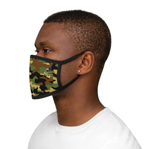 Rasta lion wear Mixed-Fabric Face Mask RLW2025