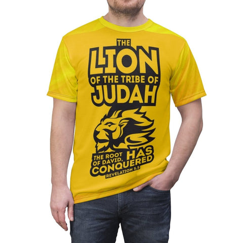 Lion of judah Unisex AOP Cut & Sew Tee RLW2449