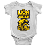 Lion of Judah Baby Bodysuit RLW950