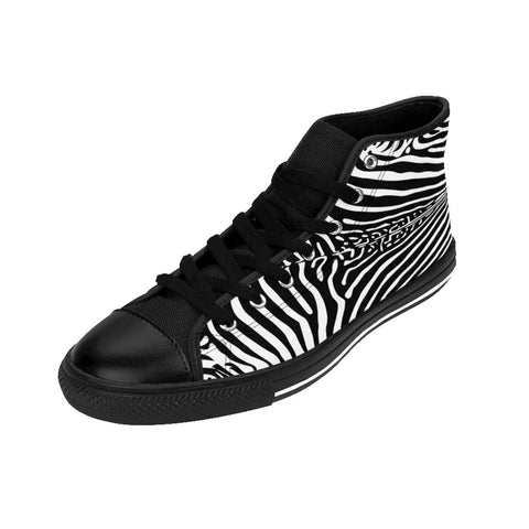 Zebra Men's High-top Sneakers RLW1914