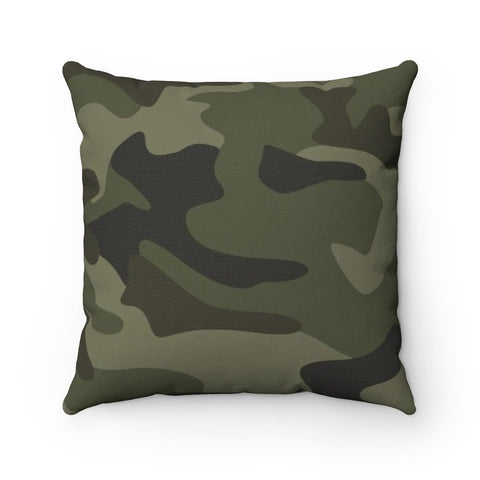 Camouflage Spun Polyester Square Pillow RLW2326