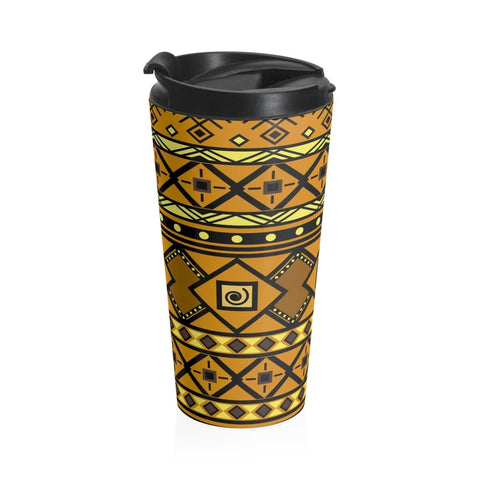 African print Stainless Steel Travel Mug RLW2650
