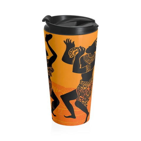 African print Stainless Steel Travel Mug RLW2647