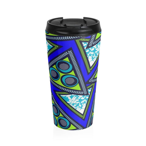 African print Stainless Steel Travel Mug RLW2648