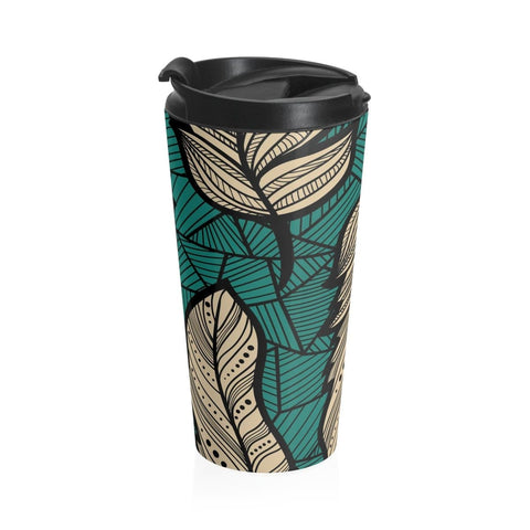 African print Stainless Steel Travel Mug RLW2643