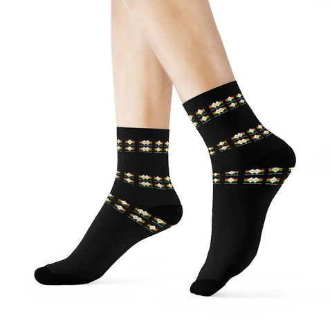 Rasta lion wear Crew Socks RLW1827