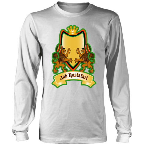 Jah Rastafari Men's Long Sleeve Shirt RLW1466