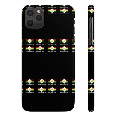 Rasta lion wear Case Mate Slim Phone Cases RLW2631