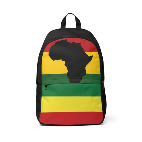 African Unisex Fabric Backpack RLW2224