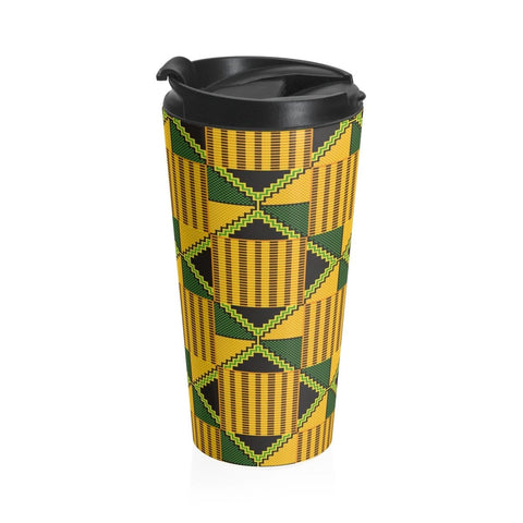 African print Stainless Steel Travel Mug RLW2649