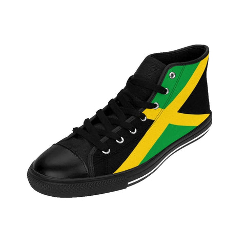 Jamaican flag Men's High-top Sneakers RLW1788