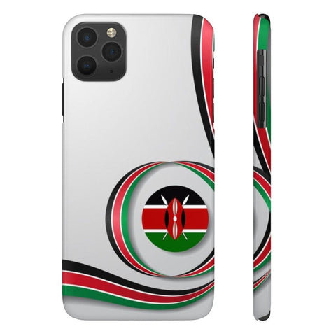 Kenyan flag Case Mate Slim Phone Cases RLW2627