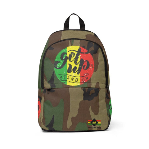 Get up stand up Unisex Fabric Backpack RLW2227