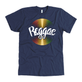 Reggae cool vinyl Men's T-shirt RLW905