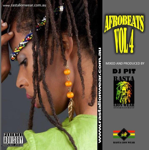 Afrobeats Vol 4 mixed by DJ PIT RLW198