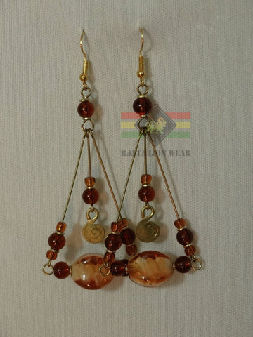 Awesome African earrings RLW281
