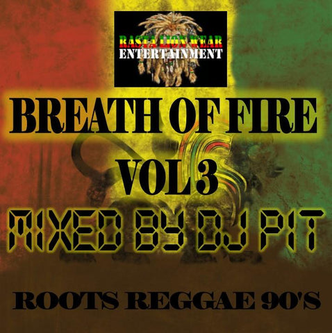 Breath of fire Vol 3 (Roots Reggae Mix) RLW357