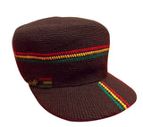 Wicked rastafari/reggae hand crocheted hat RLW257