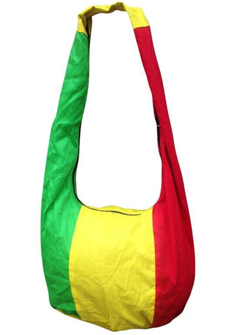 Rasta and Reggae Cross Body Hobo Bag  RLW25
