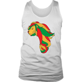 African map Lion Men's Tank/vest RLW1377
