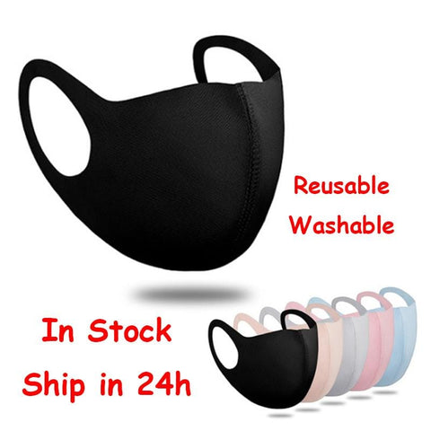 2pcs Reusable or disposable fabric face Mask /covering RLW870
