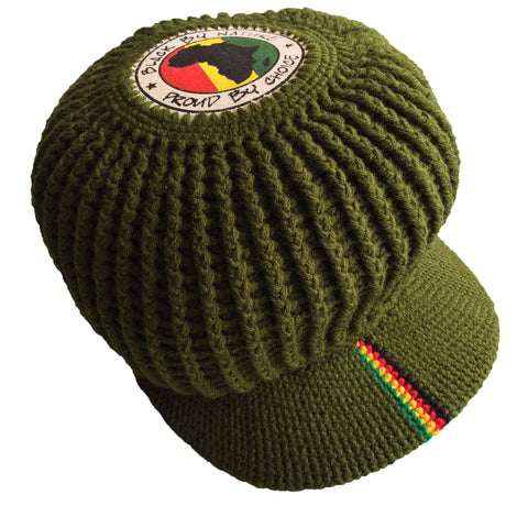 Wicked Rasta hand crotched hat RLW689