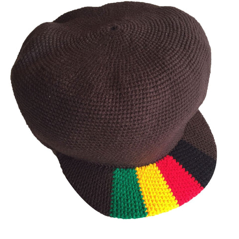 Wicked hand crocheted rasta hat RLW55