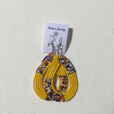 Cute Maasai bead earrings RLW286