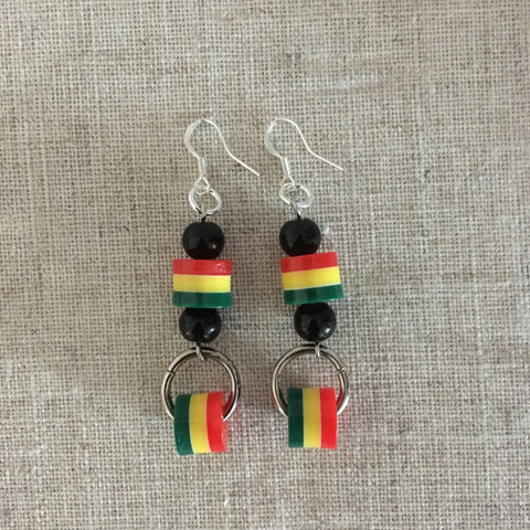 Rastafarian earrings RLW728