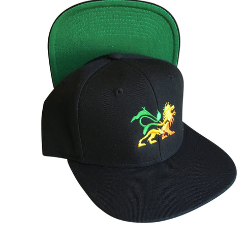 Lion of judah Flat Peak Snapback Cap RLW802