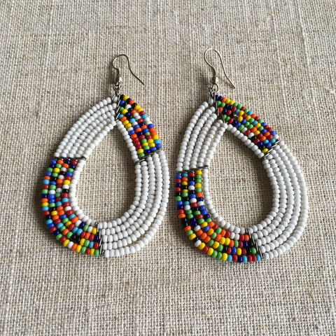 Cool African Maasai Earrings RLW11