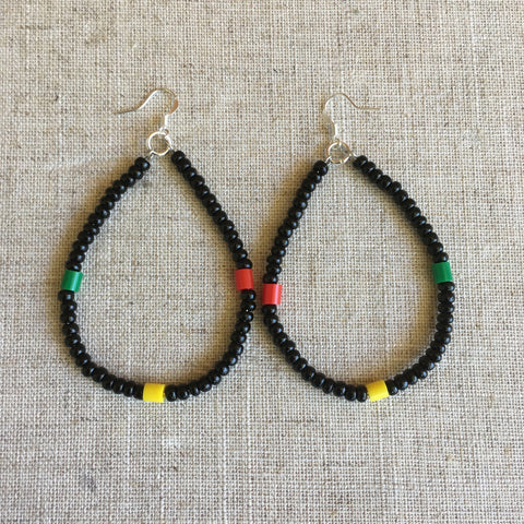 Cool rasta Earrings RLW763