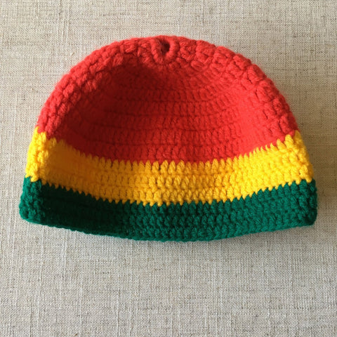 Cool infants/kids slouchy Rastafarian hat RLW84