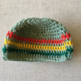 Cool infant/Kids slouchy Rastafarian hat RLW89