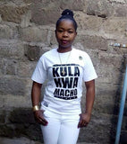 Kula Kwa Macho Kenyan Women's V-Neck T-Shirt RLW429