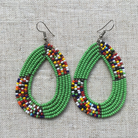 Maasai beads Earrings RLW287