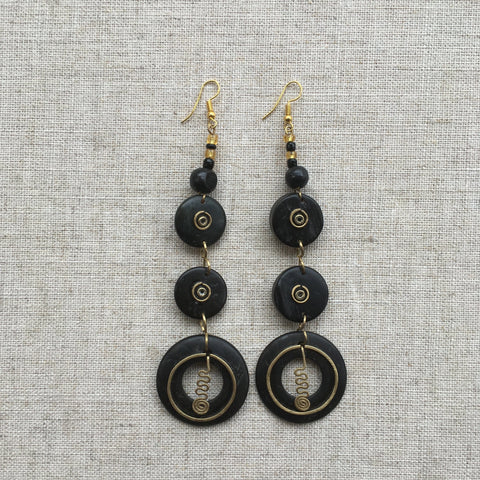 Gorgeous African earrings RLW282