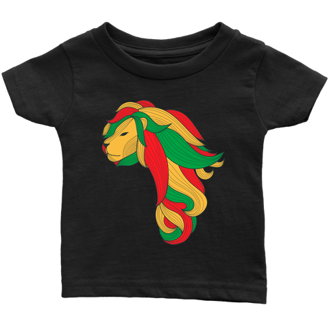 African map Lion Infant T-shirt RLW1328