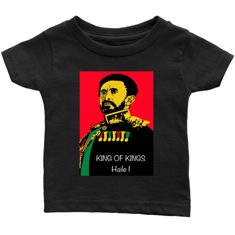 King of Kings Haile I infant T-shirt RLW896