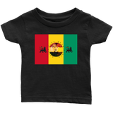 Rasta lion wear vibes infant t-shirt RLW1764