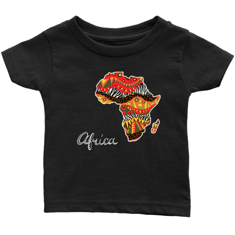 African Map Infant T-Shirt RLW1105