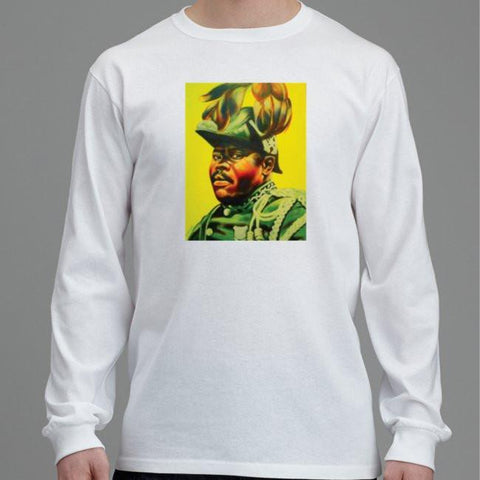 Marcus Garvey Men's Long Sleeved T-Shirt RLW153