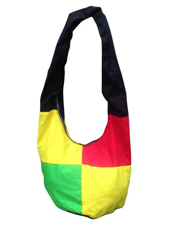Rasta and Reggae Cross Body Hobo Bag RLW399