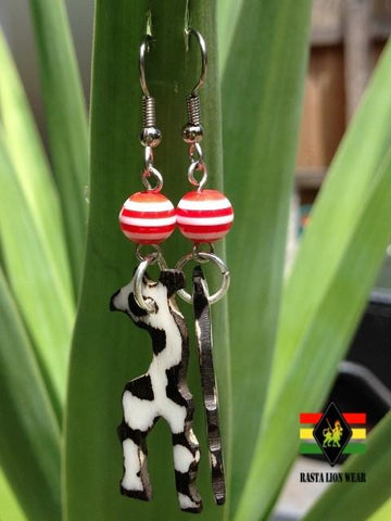 Giraffe  Earrings RLW91