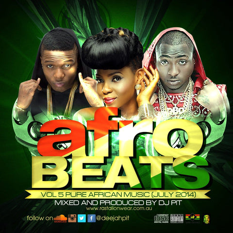 Afrobeats Vol 5 (Pure African music) mixed by DJ PIT RLW349